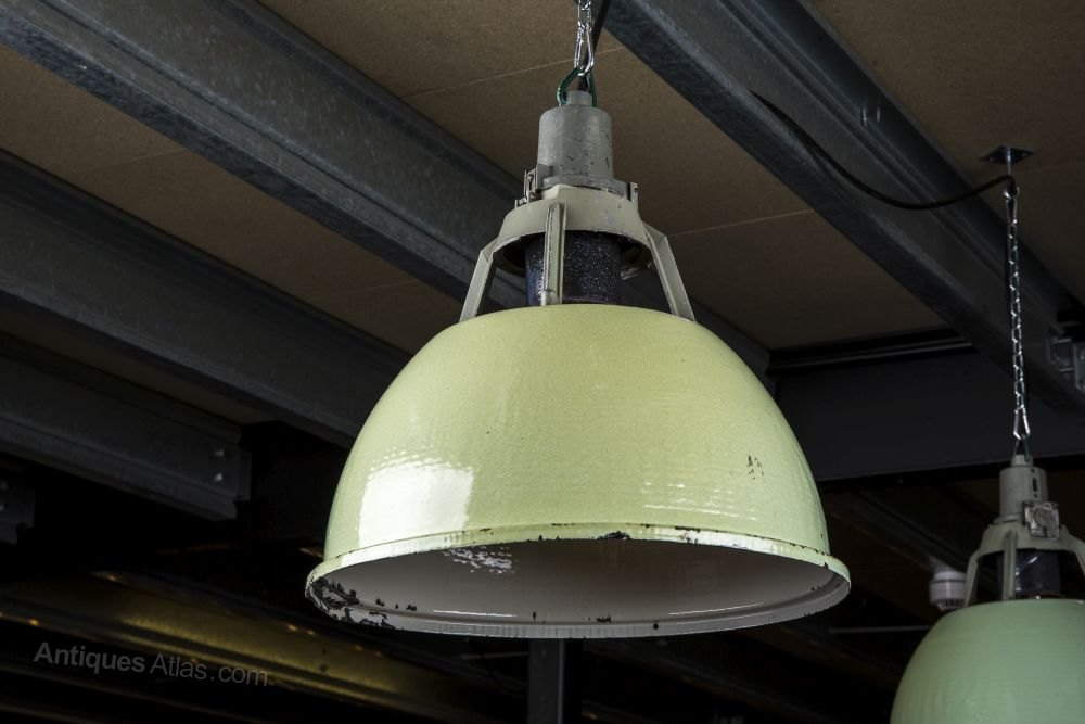 Antiques Atlas Vintage Industrial Factory Lights