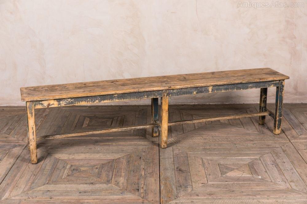 Antiques Atlas Vintage Wooden Bench