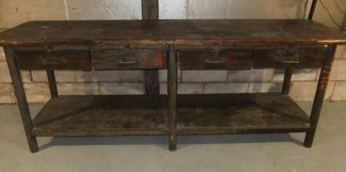 Vintage Industrial Sideboard ... - Antiques Atlas - Vintage Industrial Sideboard