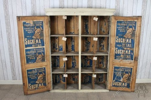 Vintage Industrial Storage Cabinet ... & Antiques Atlas - Vintage Industrial Storage Cabinet