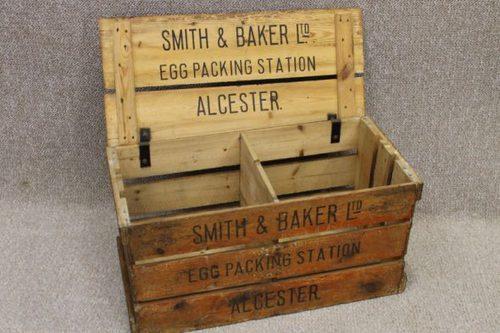 Vintage Egg Crate