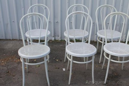 antiques atlas white bentwood chairs restaurant cafe chairs