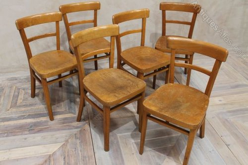 Antiques Atlas Wooden Kitchen Chairs Vintage Cafe Chairs Wooden
