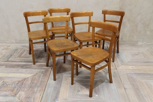 Wooden Kitchen Chairs Vintage Cafe Chairs Wooden - Antiques Atlas - Wooden Kitchen Chairs Vintage Cafe Chairs Wooden