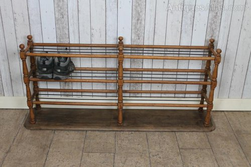 Edwardian School Shoe Rack Antique ... - Edwardian School Shoe Rack - Antiques Atlas