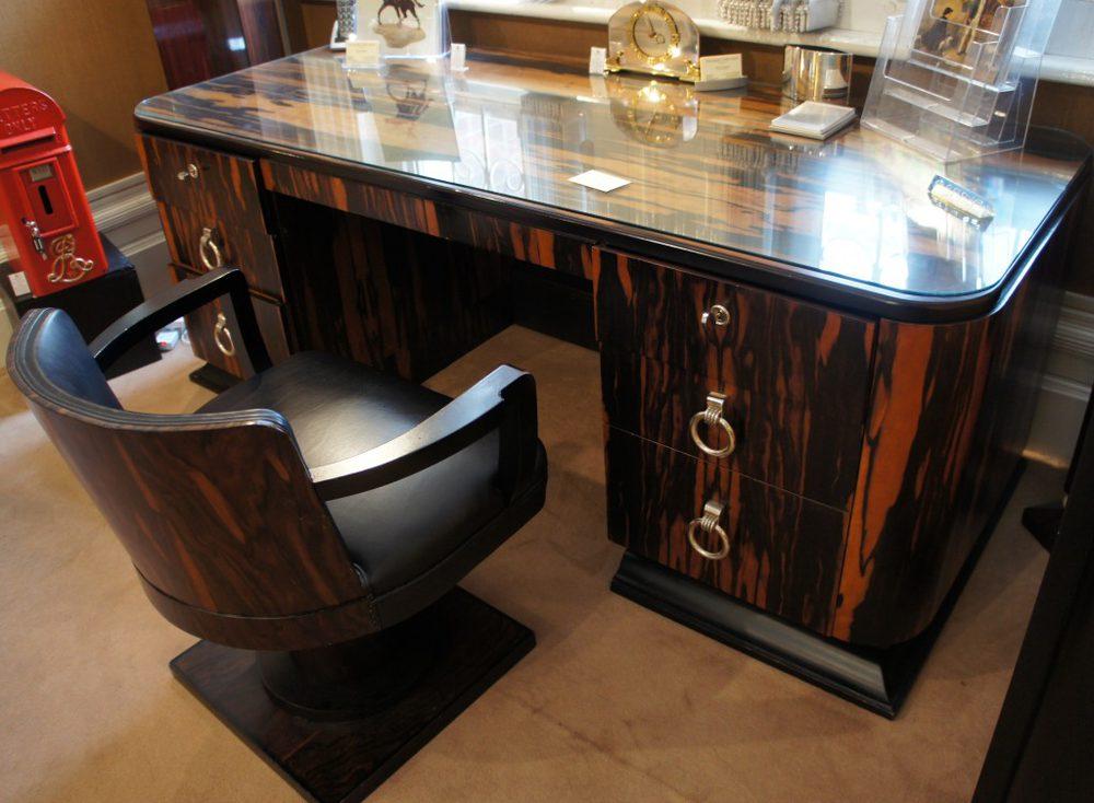 French Art Deco Desk Antiques Atlas