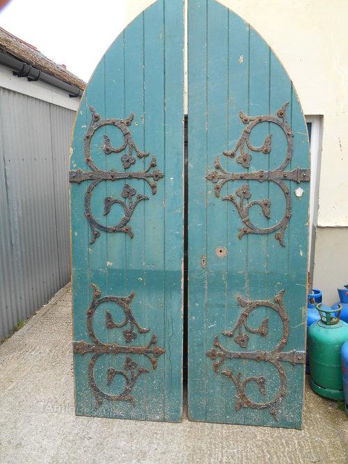 - Antiques Atlas - Antique Victorian Church Doors
