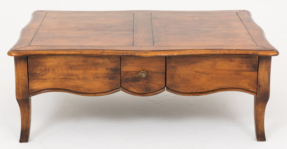 Antiques Atlas French Cherry Wood Coffee Table