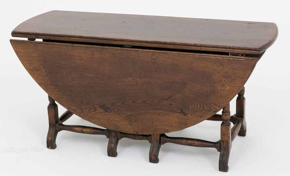 Exceptionnel Oak Drop Leaf Coffee Table ...
