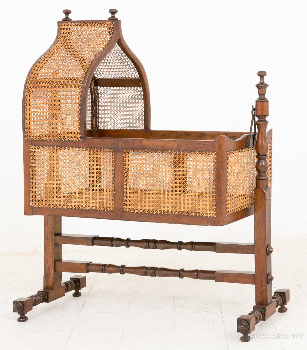 pickup wooden cradle baby antique ques cribs only cincinnati wood crib artistic ebay