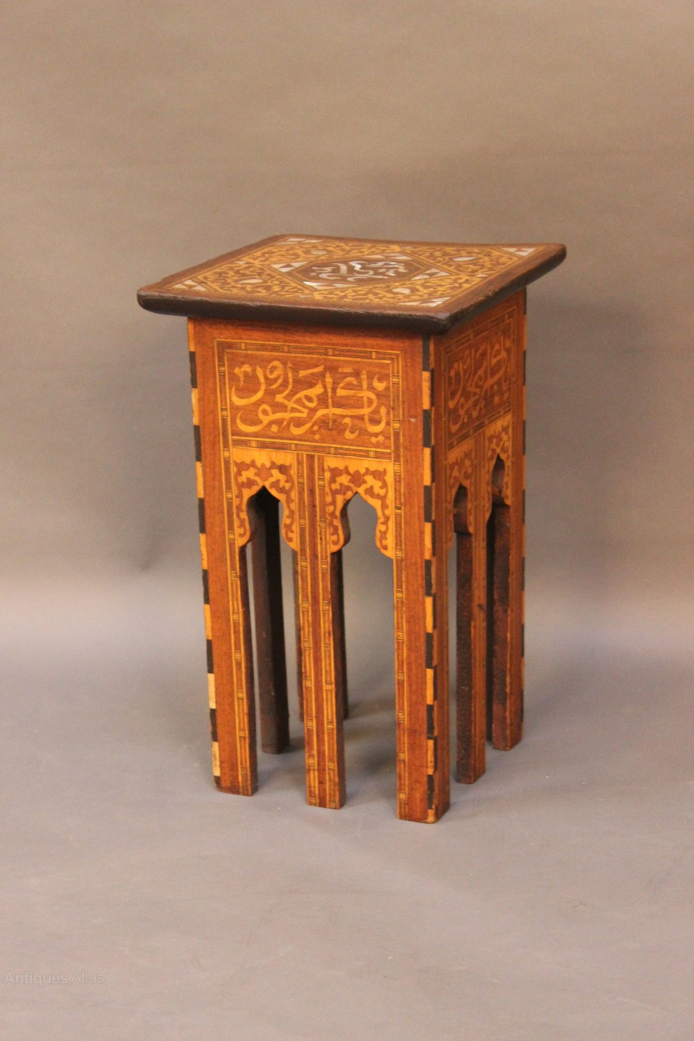 Small islamic occasional table antiques atlas for Small occasional tables