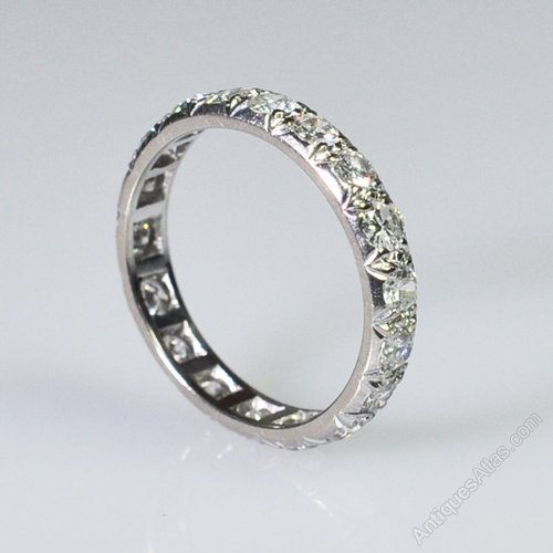 c596cabadf155 Vintage Diamond Eternity Ring
