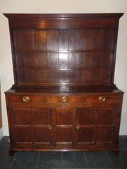 Antiques A Fine 18th Century Oak Dresse