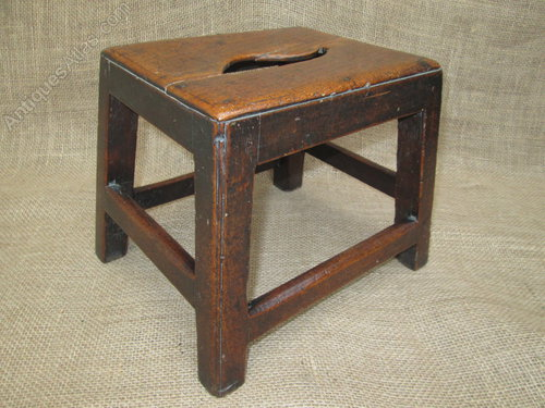 Surprising Fine 18Thc Fruitwood Low Stool R W Symonds Antiques Atlas Dailytribune Chair Design For Home Dailytribuneorg