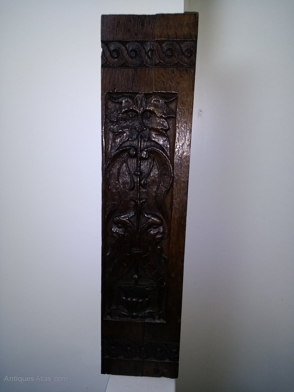 Antiques atlas fine early th century carved oak panel