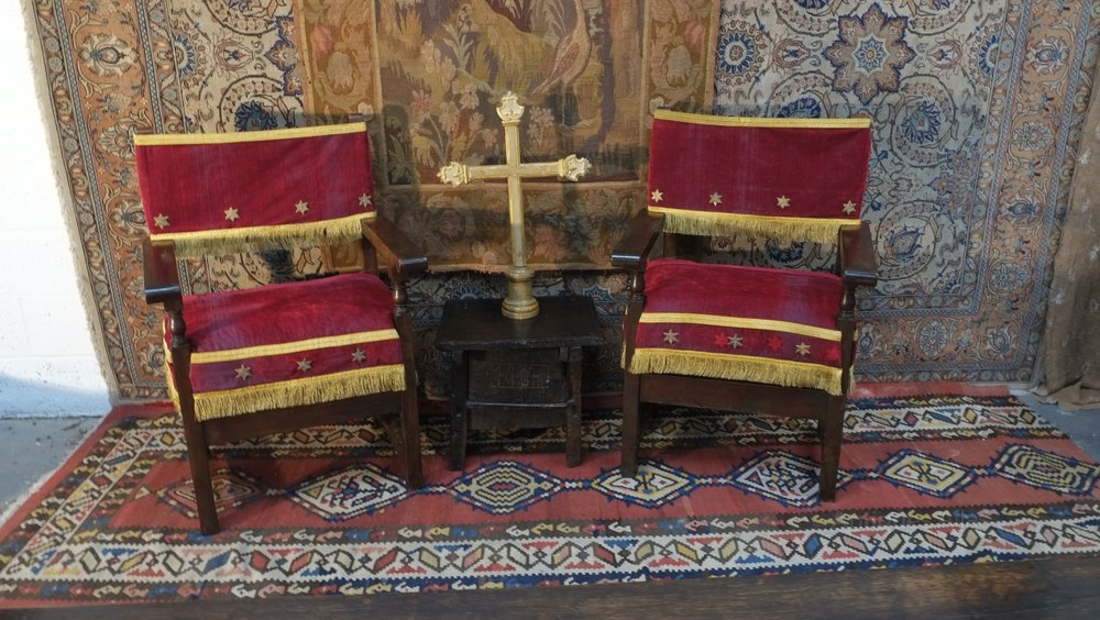 A Pair of Early 17th Century Spanish Chairs Antique ... - A Pair Of Early 17th Century Spanish Chairs - Antiques Atlas