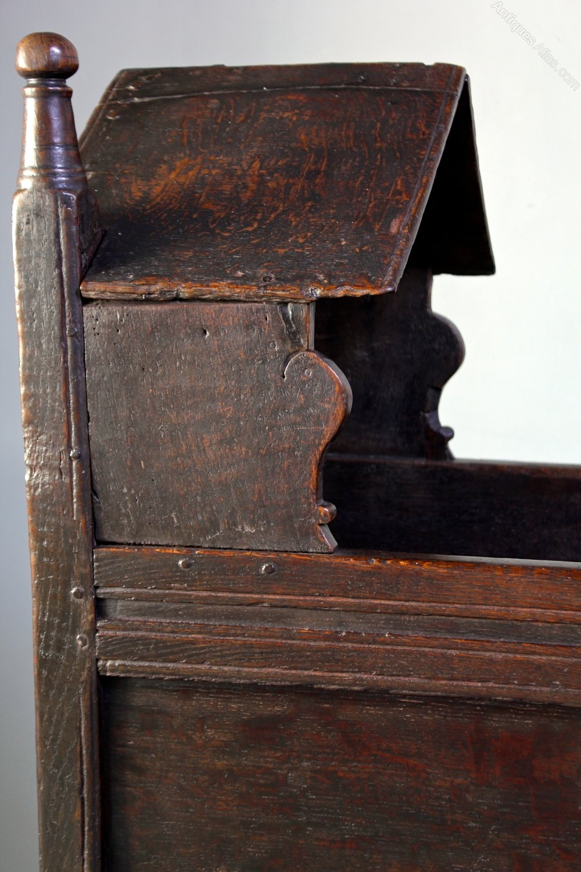 17th Century Oak Baby S Cradle Antiques Atlas