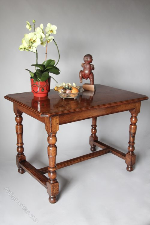 17th Century Walnut Centre Table  V354