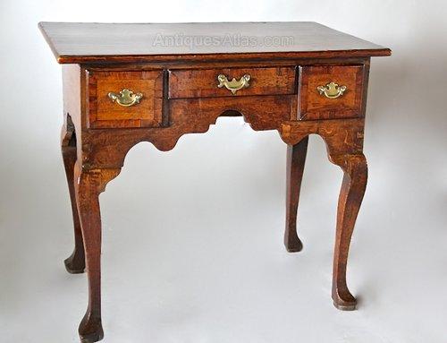 18th Century Oak Lowboy/Side Table V80