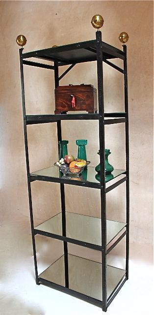 19th Century Free Standing Metal Shelf Unit Antiques Atlas