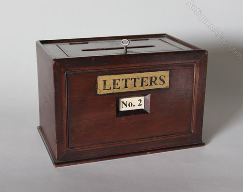 19th Century Hotel/Apartment Posting Box V316