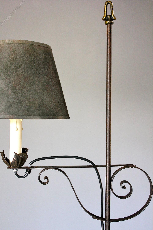 Leaf Design Metal Floor Lamp