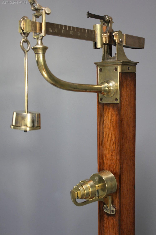 Antique Avery Floor Personal Scales U235 Antiques Atlas