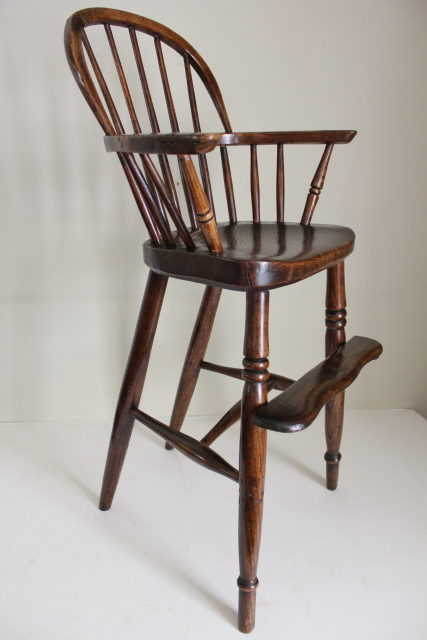 Antique Childs High Windsor Arm Chair ... - Antique Childs High Windsor Arm Chair - Antiques Atlas