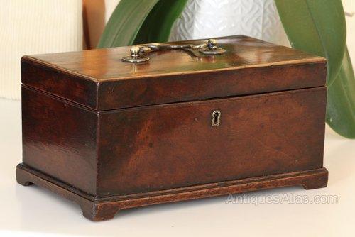 Georgian 18th Century Mahogany Box V150