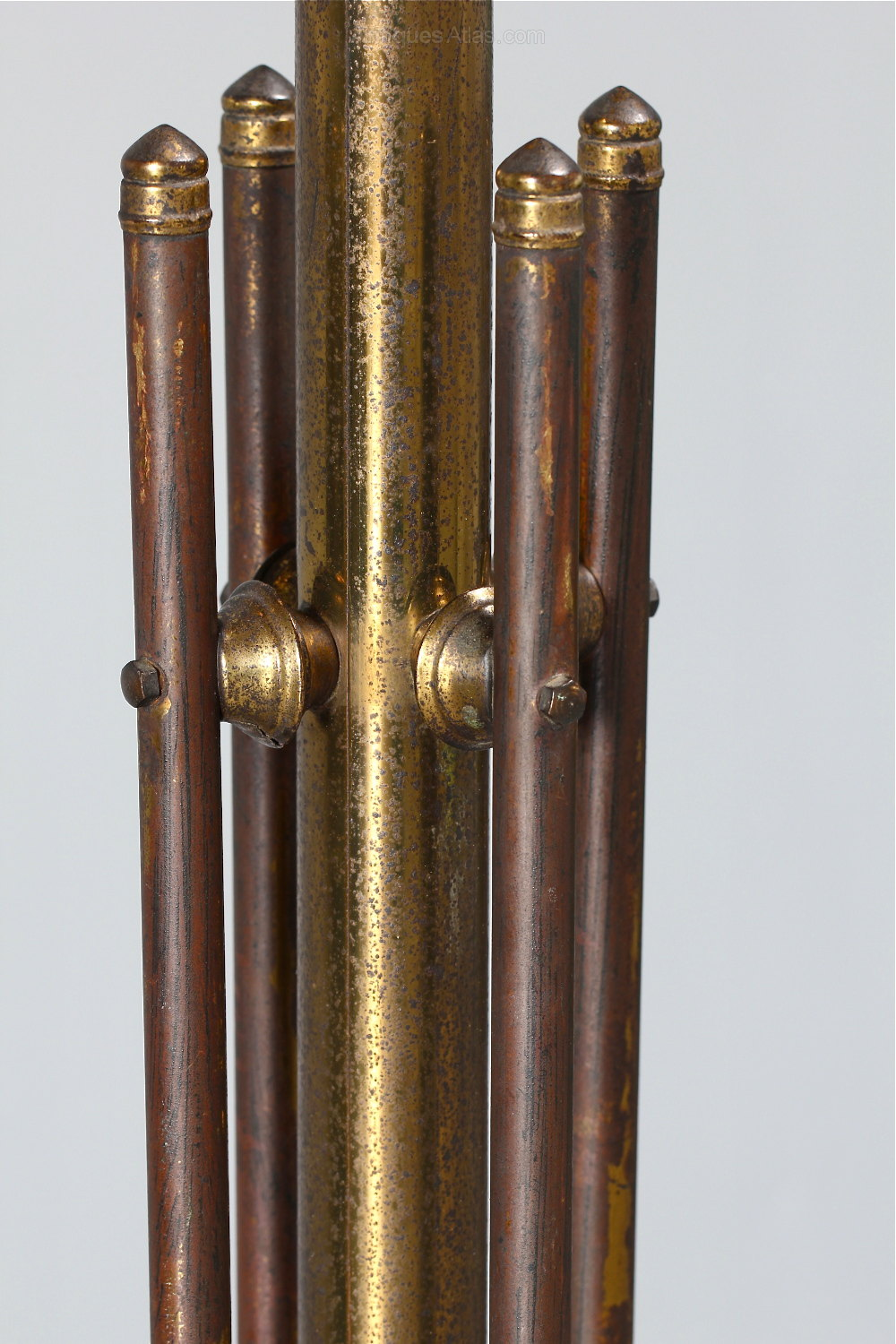 Gilded Brass Hat And Coat Stand Antiques Atlas