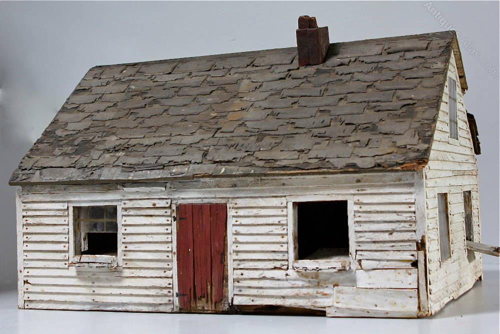 Vintage American Folk Art Bird House