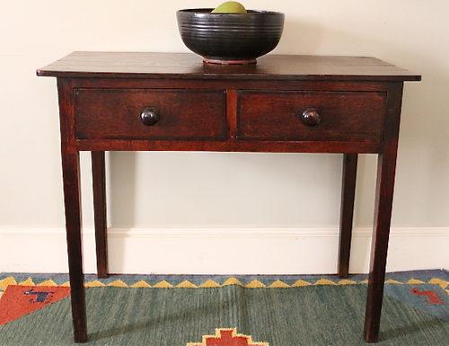 Cool Victorian 2 Drawer Side Table Antiques Atlas Machost Co Dining Chair Design Ideas Machostcouk