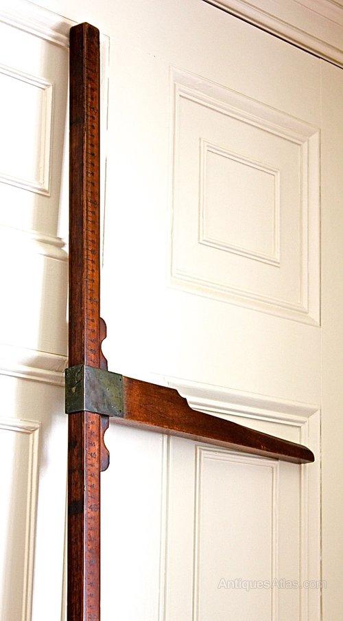Victorian Treen Height Measure. U642