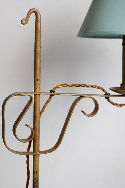 Antiques Atlas Vintage Wrought Iron Table Lamp