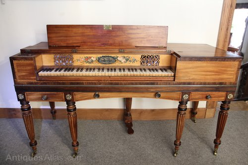William Rolfe & Sons Regency Square Pianoforte