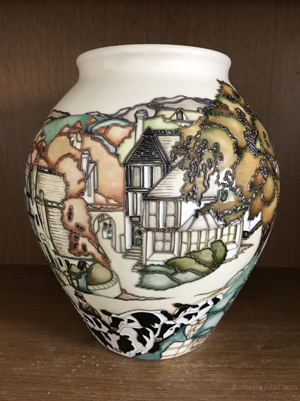 Antiques Atlas Moorcroft Off To Market Vase Limited