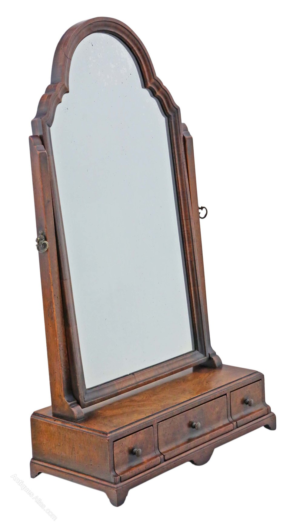 Antiques Atlas Mahogany Dressing Table Swing Mirror Toilet