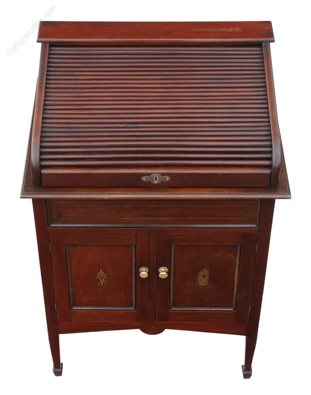 Mahogany Small Roll Top Desk C1920 Antiques Atlas