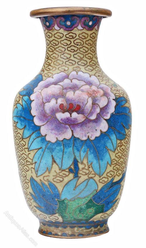 Antiques Atlas Mid 20th Century Chinese Cloisonne Vase