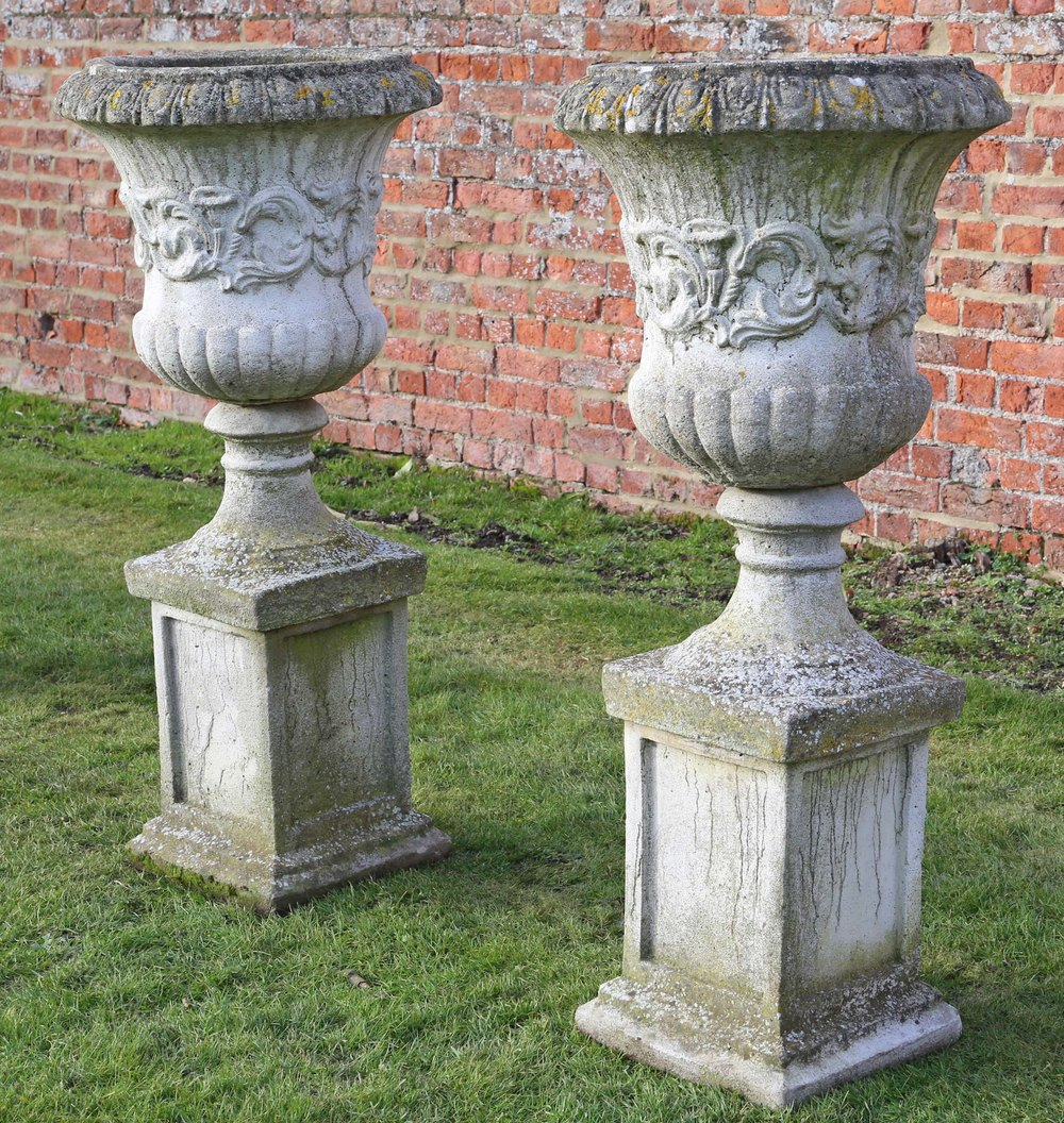 2 Chimney pots ideal for being used as chimney pots or changed to being made into ornamental garden pots £40 for both Collection only, buy in confidence from a % eBayer Old Chimney Pot.