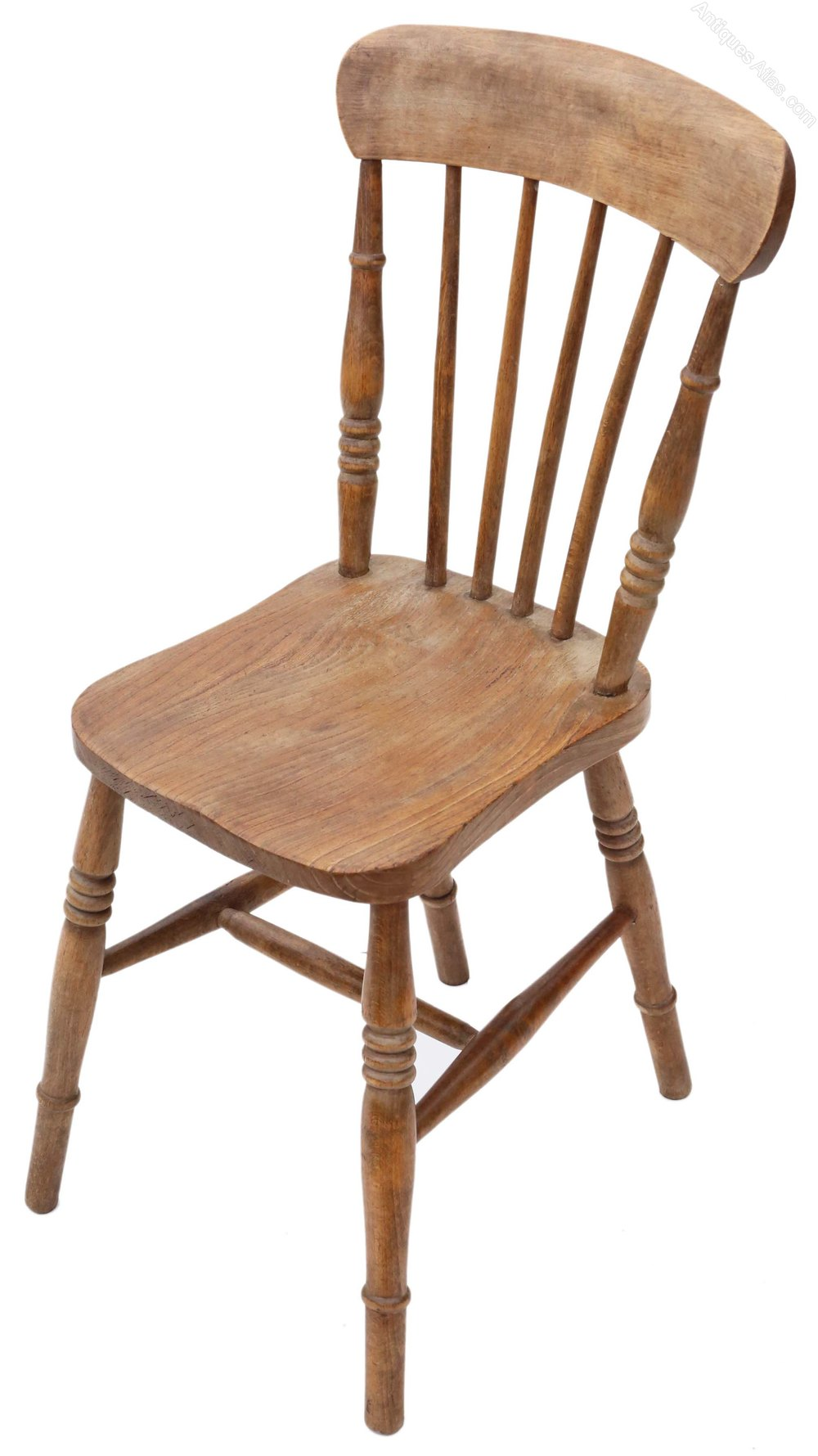 Set Of 4 Victorian Ash Elm Kitchen Dining Chairs Antiques Atlas
