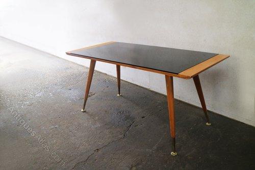 1960s Retro Belgian Mid Century Coffee Table