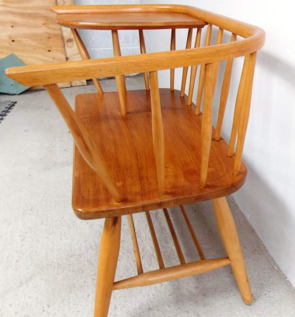 1960s Telephone Seat By Chippy Heath Ercol Style