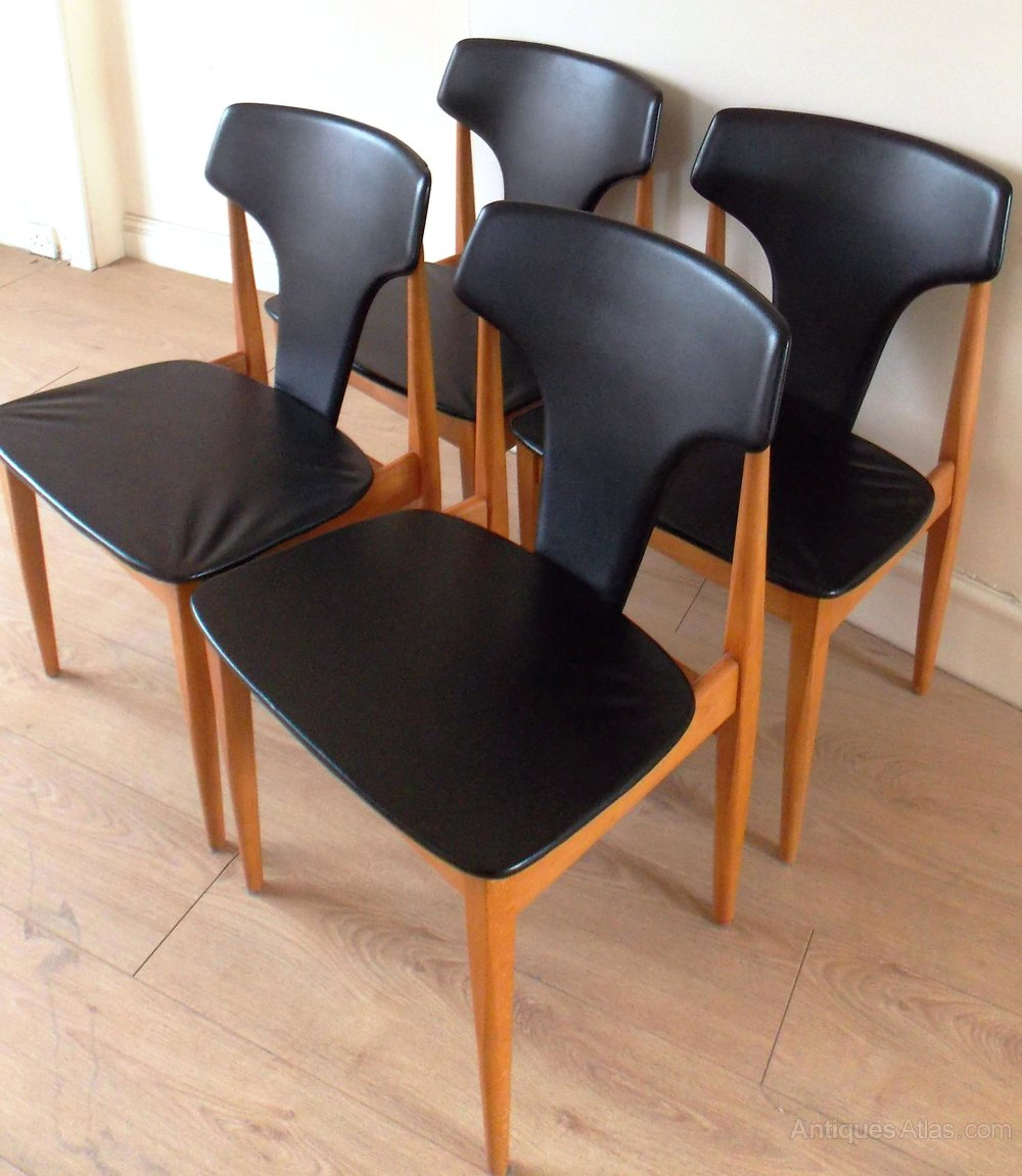 Phenomenal Antiques Atlas Four Mid Century Dining Chairs Elliots Of Pabps2019 Chair Design Images Pabps2019Com