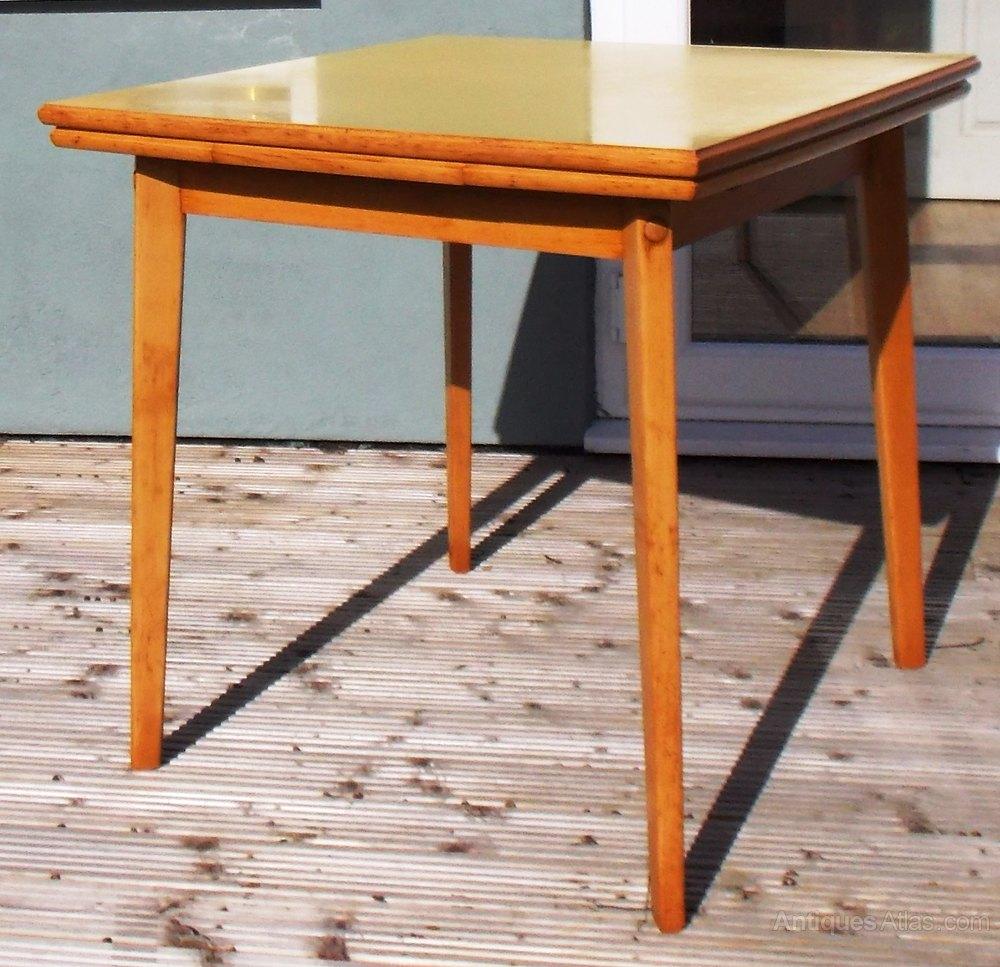 tables 1960s yellow formica alt5 alt6