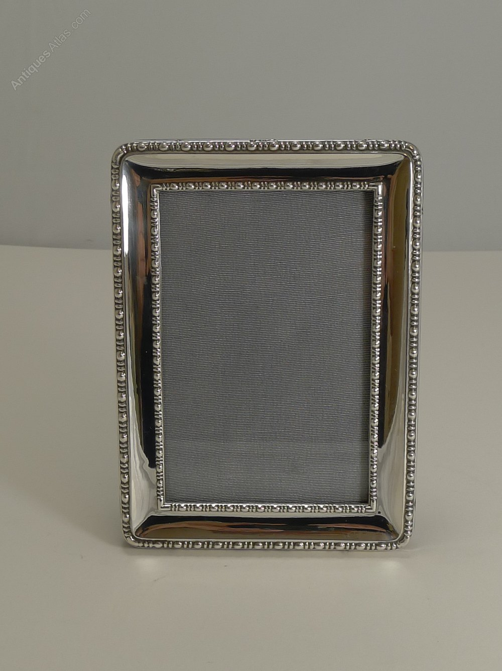 Antiques Atlas - Antique English Silver Photograph Frame - 1918