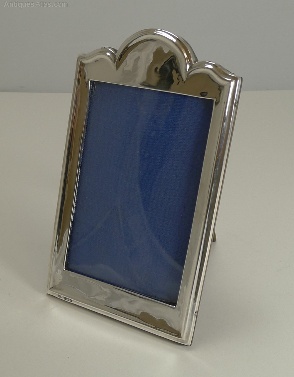 Antiques Atlas - Antique English Sterling Silver Photograph Frame