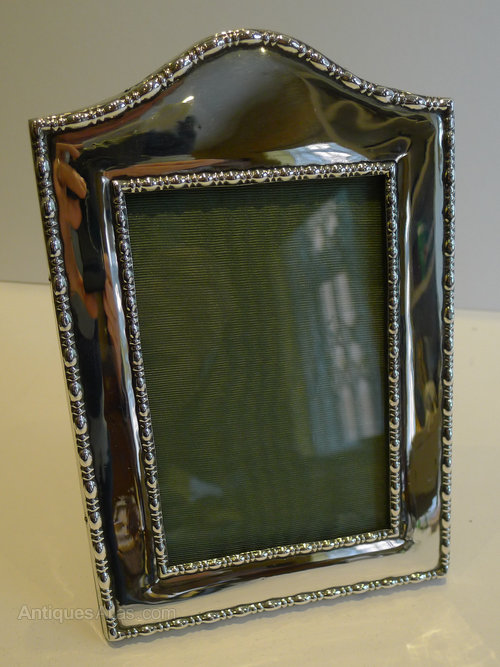 Antiques Atlas English Sterling Silver Photograph Frame 1916