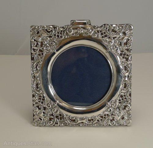 Antiques Atlas Antique English Silver Photograph Frame 1899