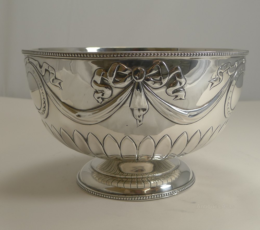 Antiques Atlas Silver 8 1 4 Bowl By
